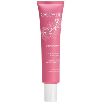 caudalie fluido matificante hidratante 40 ml vinosource